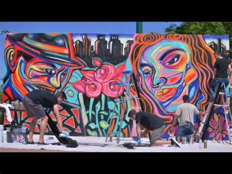 american mural artists corey barksdale mural wall american muralist