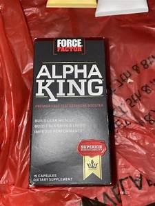 Force Factor Alpha King Testosterone Booster Supplement 15 Capsules 02  22
