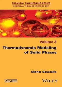 thermodynamic modeling  solid phases