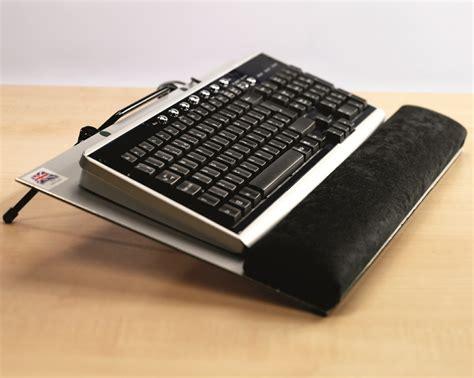 adjustable computer stand keyboard riser