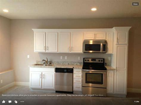 basement kitchen ideas small kitchenette flip sink and dishwasher add fridge to