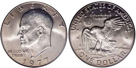 specifications eisenhower silver dollars 1977 d eisenhower dollar values facts