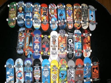 tech deck board tricks de marques de boards 手指滑板 finger skate skyrock