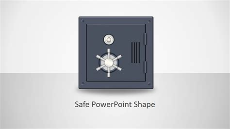 animated safe shapes template  powerpoint slidemodel