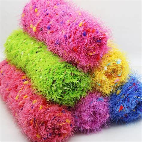 ballslot  soft thick yarn  knitting type crochet