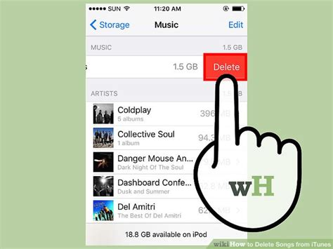 3 ways to delete songs from itunes wikihow