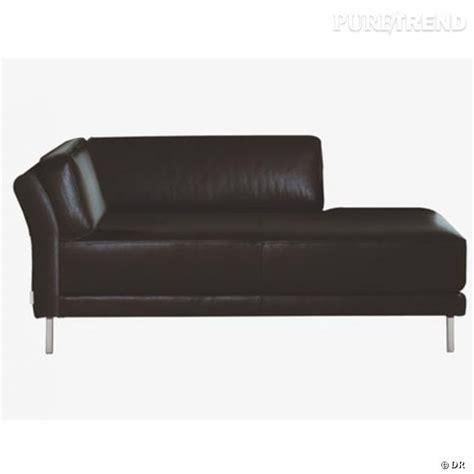dans le canapé canapé habitat du cuir noir dans le salon pour se lover