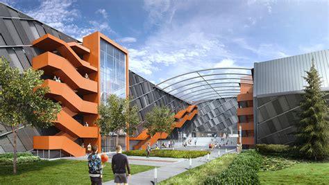 nike  reveals design  world headquarters expansion