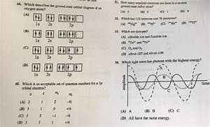 Solved  44  51  How Many Unpaired Electrons Are There In A