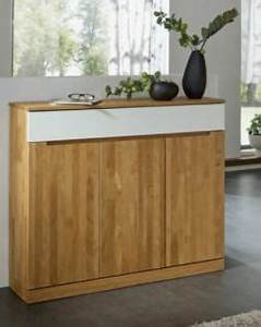 Sideboard Wildeiche Massiv Geölt : anrichte sideboard wildeiche massiv ge lt dielenm bel made ~ Watch28wear.com Haus und Dekorationen