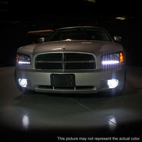 2006 2010 dodge charger drl led headlights w built in