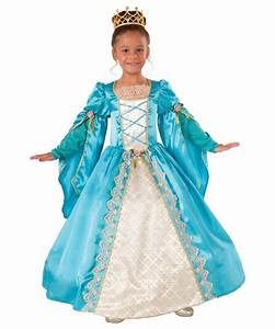 cinderella princess costume child girls blue gown dress up ...
