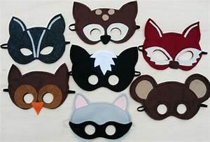 Masken Basteln Kinder Kindermasken Dschungel Tiere 5tlg Kinderparty
