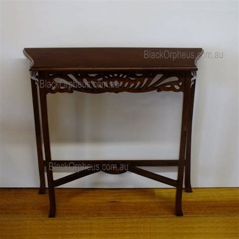 Narrow Sofa Table Australia table narrow carved table black orpheus