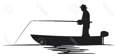 Fishing Boat Silhouette by Boats Vector Illustration Silhouette Arenawp