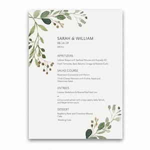 Wedding Menus Images - Wedding Dress, Decoration And Refrence