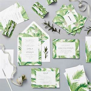 tropical wedding invitation set by lucy says i do With tropical print wedding invitations