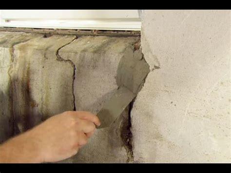 repair  crack   concrete foundation