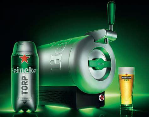 """KRUPS x Heineken   """"The Sub"""" Tabletop Beer Chiller"""