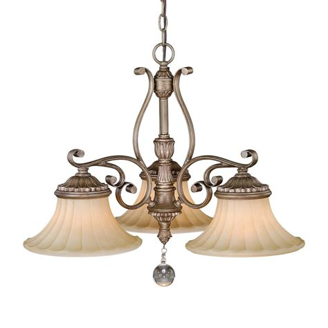Lighting Chandeliers by Cascadia Lighting Avenant 3 Light Kitchen Chandelier