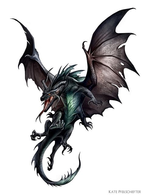 Pseudodragon 5E Black | Mungfali
