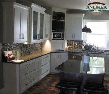 corner kitchen cabinet appliance garage kitchen cabinets with corner appliance garage and