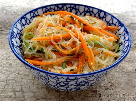 cuisiner vermicelle de riz salade fraîche aux vermicelles de riz la tendresse en
