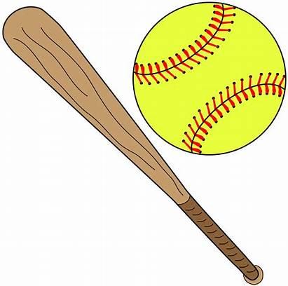 Softball Bat Clipart Background Clip Clear Field