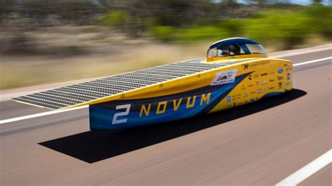 solar car race  michigan engineer news center