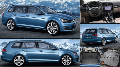 Volkswagen Golf Variant 2014 Pictures Information Specs
