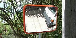Rectangular Deluxe Stainless Steel Convex Mirror