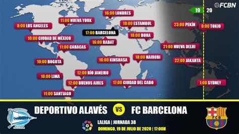 Alavés vs FC Barcelona en TV: Cuándo y dónde ver el partido