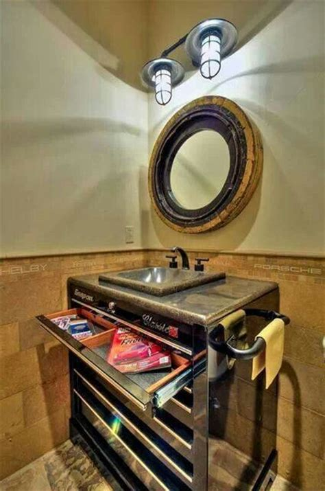 man cave bathroom sink daily man up 27 photos home caves and home decor