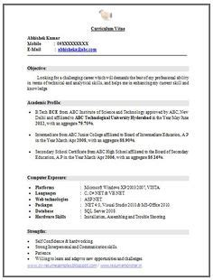 B Freshers Resume Sles by Pin By Easybiodata On Biodata For Marriage Sles