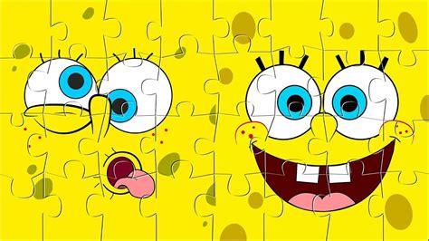 2009 hola aquí un video de bob esponja en el juego macabro. SpongeBob Puzzle Games - Rompecabezas de Bob Esponja - YouTube