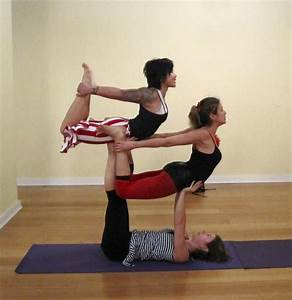 information about yoga positions for three people