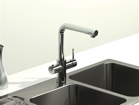 Three Kitchen Faucets by Three In One Kitchen Faucet For Residential Pros