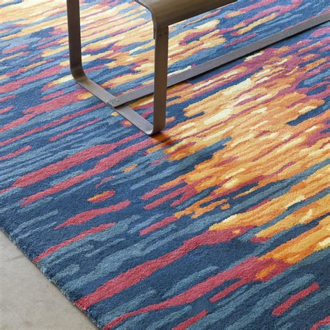 tufted area rugs stella collection tufted area rug in blue