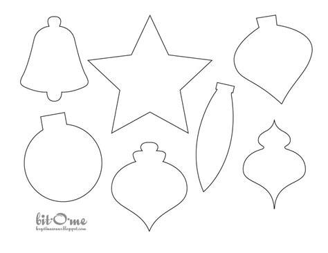 felt christmas tree christmas ornament template felt