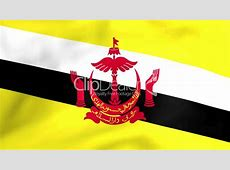 Flag Of Brunei Royaltyfree video and stock footage