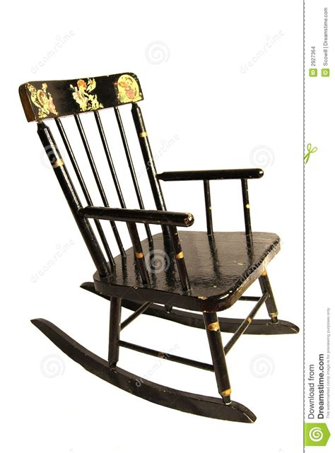 antique child s rocking chair stock photo image 2927364