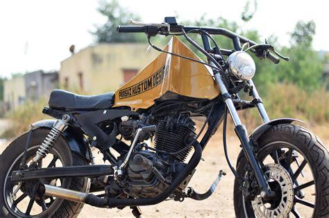 Modified Bikes Honda by Modified Honda Cbz By Prashz Custom Design