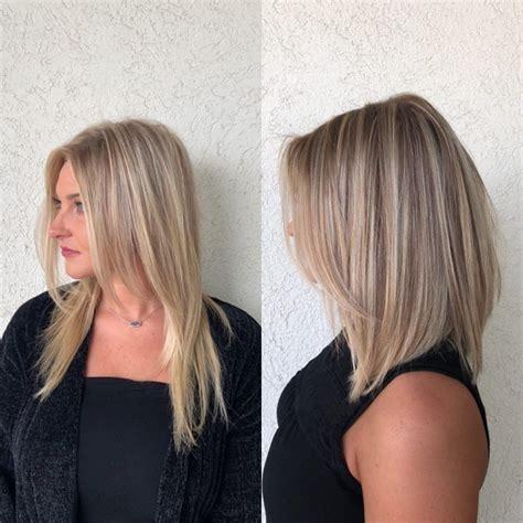 coupe de cheveux carre long coiffure simple  facile