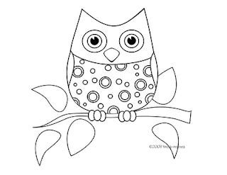 owls coloring sheets owly