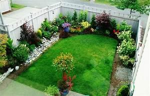 Creation Avec Des Pots De Fleurs : am nager un petit jardin avec plantes vertes buis ~ Melissatoandfro.com Idées de Décoration