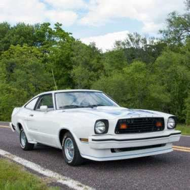 1978 Ford Mustang King Cobra For Sale by 1978 Ford Mustang King Cobra Polar White For Sale On
