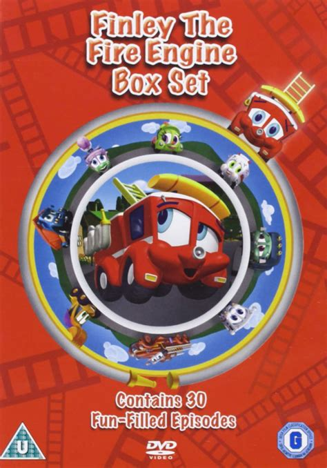 finley  fire engine volumes   dvd zavvi