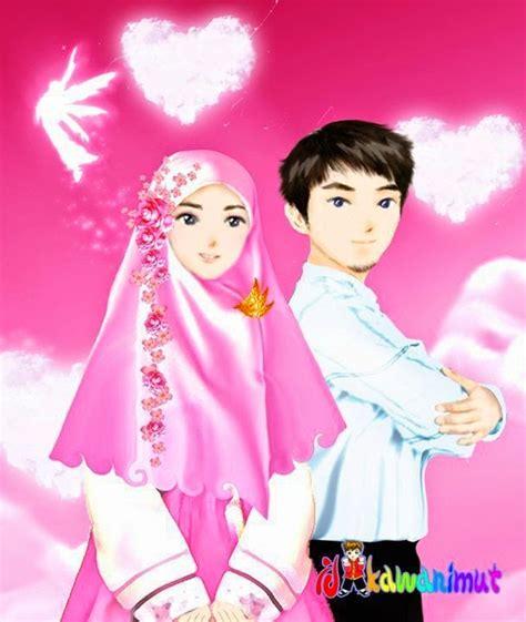 gambar anime islam romantis comment on this picture foto kartun romantis kumpulan