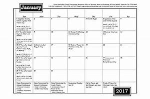 lectionary calendar 2017 calendar 2017 With worship schedule template