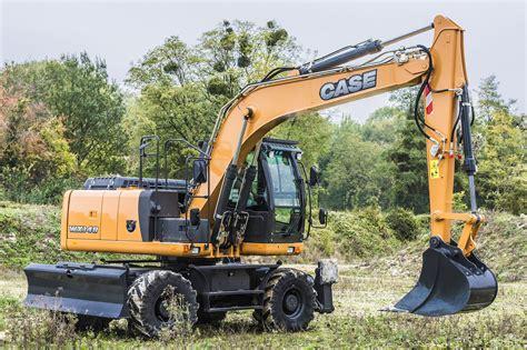 case wx wheeled excavator dennis barnfield  est